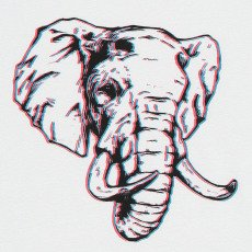 MAAN Mac Elephant T-Shirt-listing