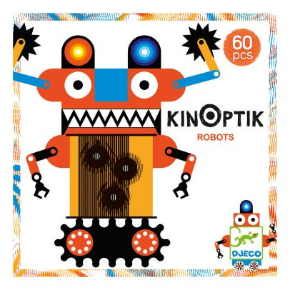 Djeco Multicoloured Robot Kinoptik Game-product