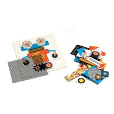 Djeco Multicoloured Robot Kinoptik Game-listing