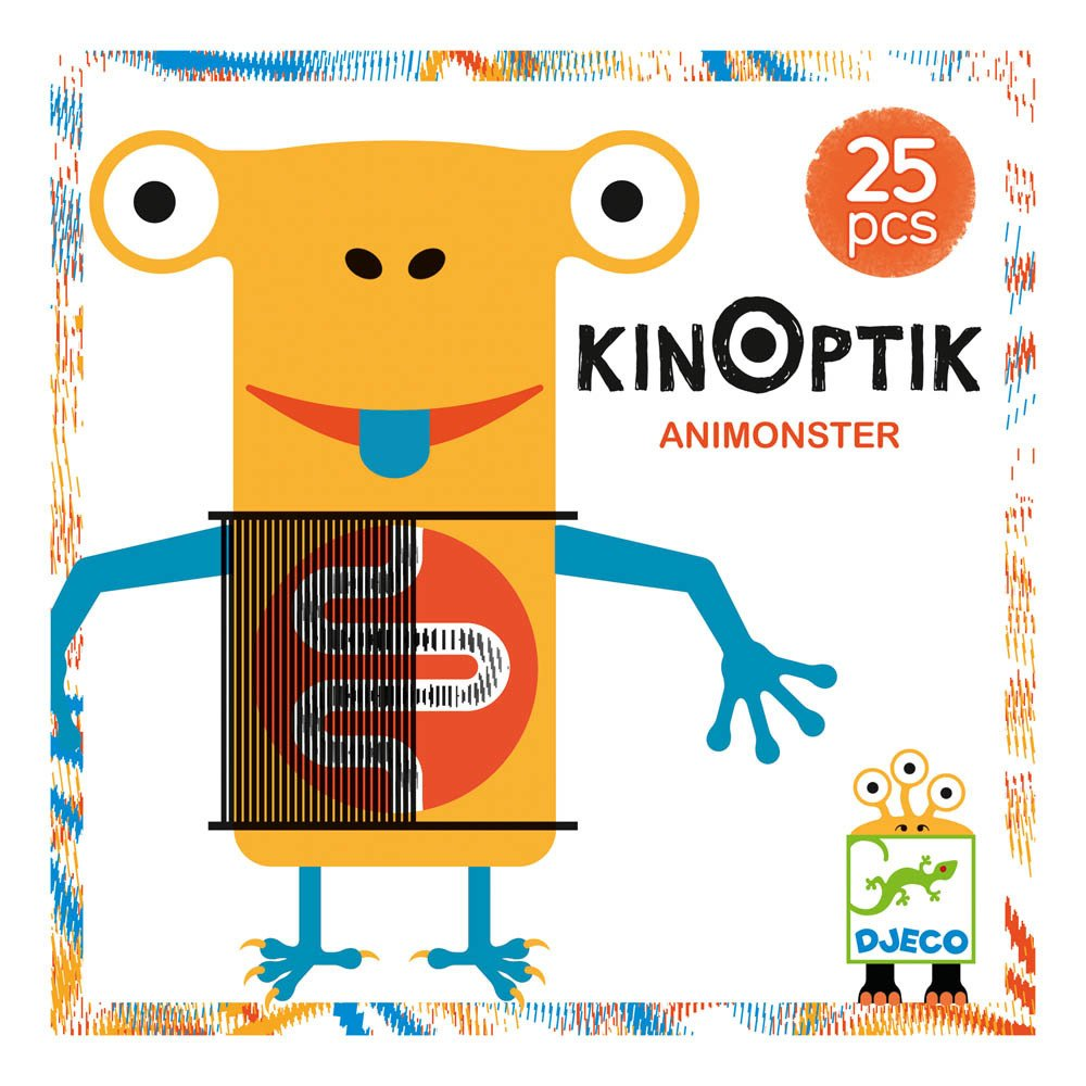 Djeco Multicoloured Animonster Kinoptik Game-product