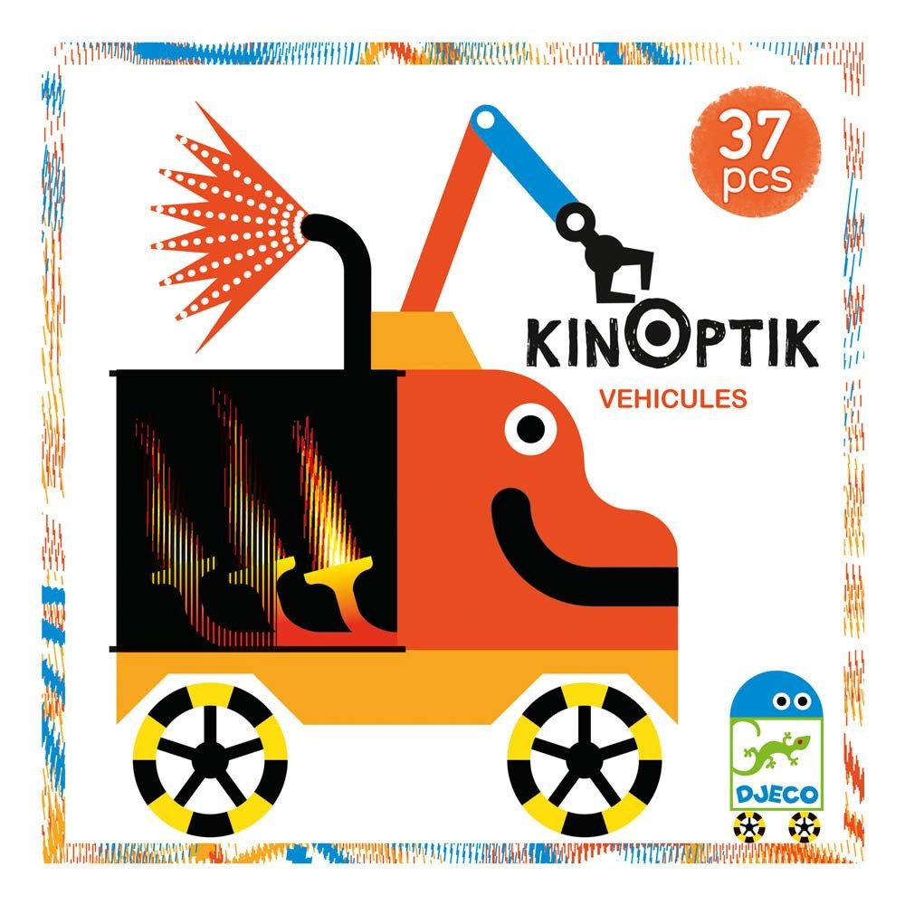 Djeco Juego Kinoptik Vehículos Multicolor-product