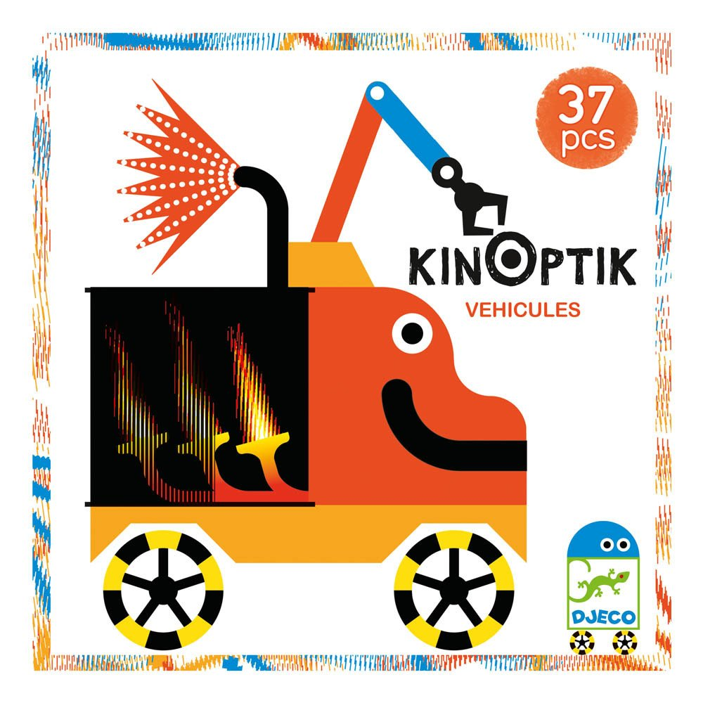 Multicoloured Vehicle Kinoptik Game-product