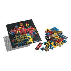 Djeco Multicoloured Town Kinoptik Game-listing