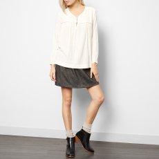 Soeur Blouse Bourrette Soie Violette-listing