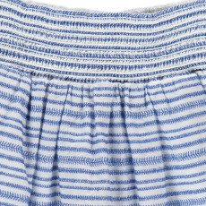 Bellerose Funny Stripe Smocked Skirt-listing