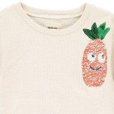 Bellerose Banzi Sequin Pineapple Sweatshirt-product