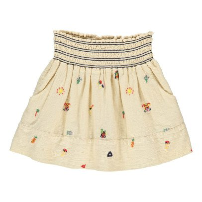 Bellerose Funny Embroidered Smock Skirt-product