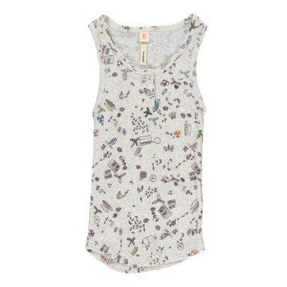 Bellerose Gram Striped Vest Top-product