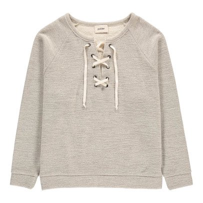 Polder Sweat Col Lacet Olympe-listing