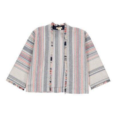 Bellerose Chaqueta Kimono Rayas Abriga-listing