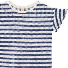 Bellerose T-shirt Rayé Ajouré Danie-listing