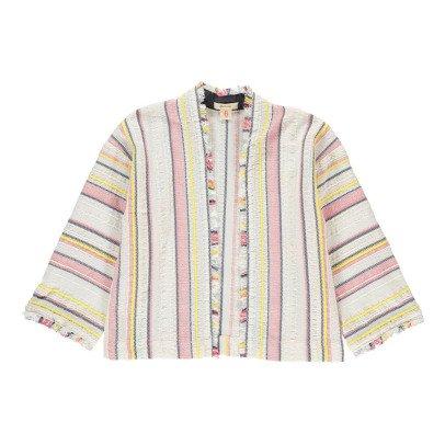 Bellerose Abriga Striped Kimono Jacket-listing