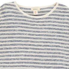 Bellerose Gestreiftes Sweatshirt Lurex Urmo -listing