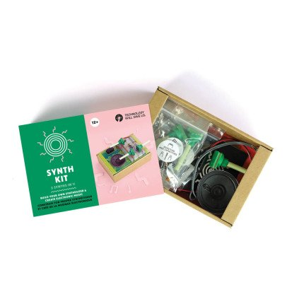 Technology Will Save Us Synthesister DIY Kit-listing