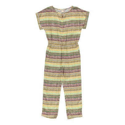 Bellerose Azul Striped Jumpsuit-listing