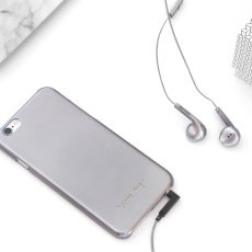 Happy Plugs Earbud Silver Headphones Plus-product