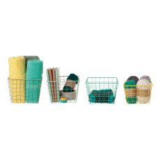 Present Time Set of 4 Bright Linea Baskets-listing