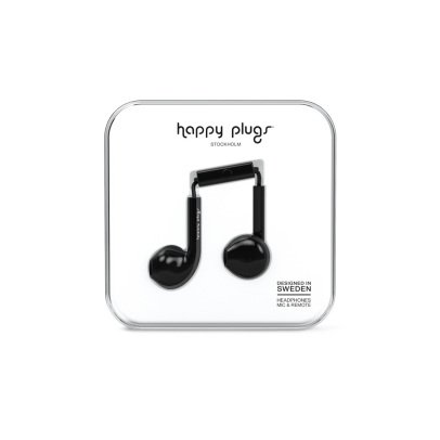 Happy Plugs Earbud Black Headphones Plus-listing