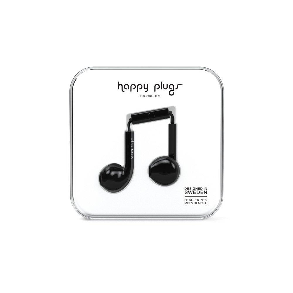 Happy Plugs Ecouteurs Earbud plus Noir-product