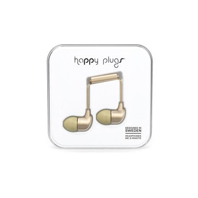 Happy Plugs Auricolari in-ear Champagne-listing