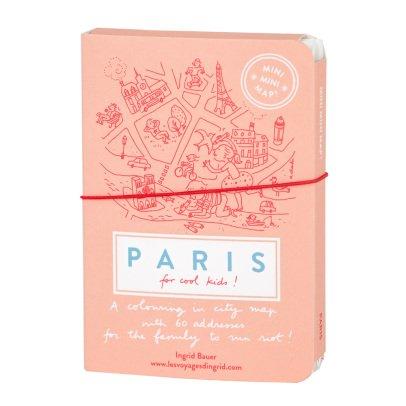 MINIMINIMAP ! Mini guía de la ciudad para colorear - París - versión en inglés-listing