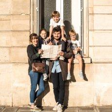 MINIMINIMAP ! Mini Reiseführer zu bemalen auf englisch-Paris -listing