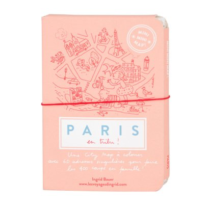 MINIMINIMAP ! Mini city guide da colorare- Parigi francese-listing