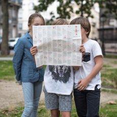 MINIMINIMAP ! Mini guía de la ciudad para colorear - París - versión en francés-listing
