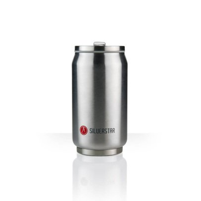 Les Artistes Canette isotherme Can'it 280ml Silvery-listing