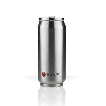 Les Artistes Canette isotherme Can'it 500ml Argenté-listing