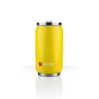 Les Artistes Canette isotherme Can'it 280ml Jaune-listing