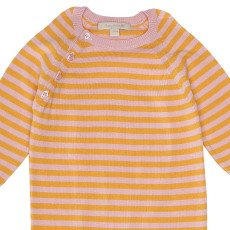 Poppy Rose Tuta in maglia a righe-listing