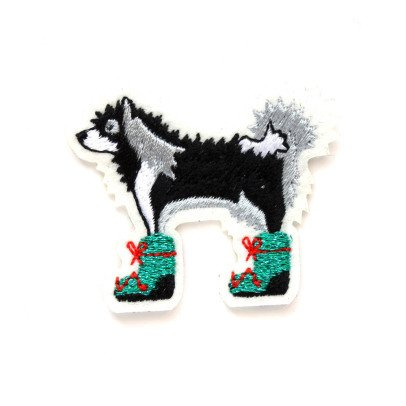 Macon & Lesquoy Husky Badge Noir-listing