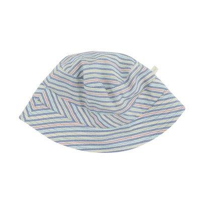 Poppy Rose Duncan Coloured Stripe Hat -listing