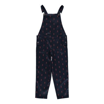 Blune Kids Hands Up Triangle Dungarees Midnight blue-listing