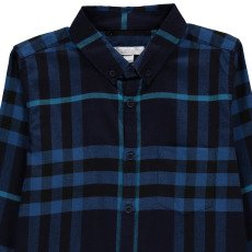 Burberry Checked Flannel Mini Fred Shirt-listing