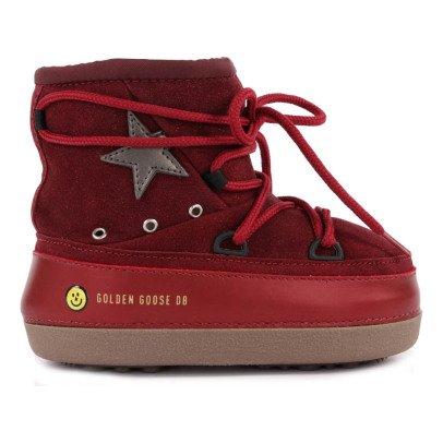 Golden Goose Boots Fourrées Suède Paillettes North Star-listing