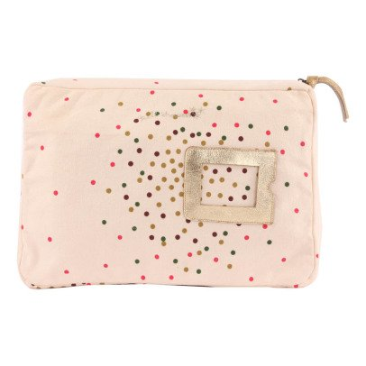 April Showers Zipped Polka-Dots Pencil Case - L-listing