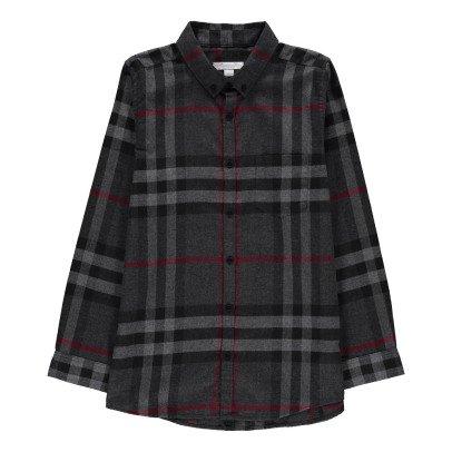 Burberry Camicia a Quadri Mini Fred-listing