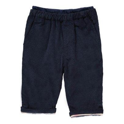 Burberry Pantalon Velours Harold-listing