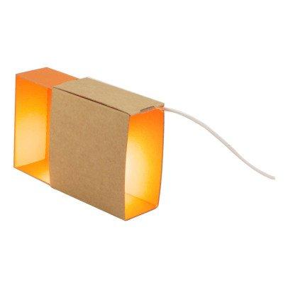 Adonde Boîte à lumière en carton à pois corail-listing