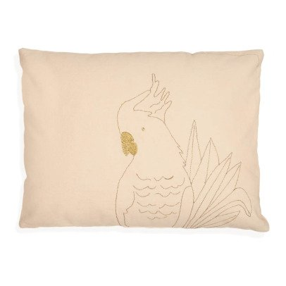 MIMI'lou Golden Parrot Cushion 30x40cm-listing
