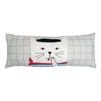 MIMI'lou Coussin French Cat 50x20 cm-listing