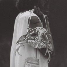 Ninn Apouladaki Masques de fête noir et blanc - Set de 3-listing