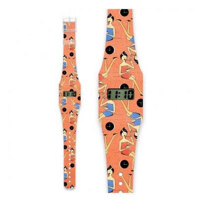 I like paper Montre en papier Petite chinoise Multicolore-listing