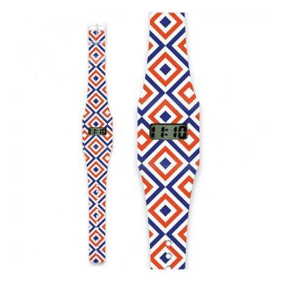 I like paper Reloj de papel Cuadratura Multicolor-listing