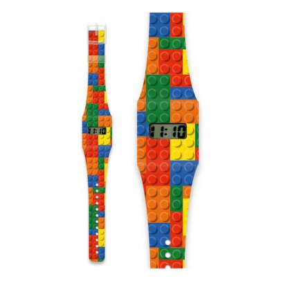 I like paper Montre en papier Bloc de construction Multicolore-listing