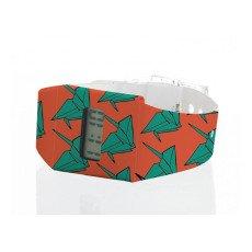 I like paper Papieruhr-Origami-Orange -listing