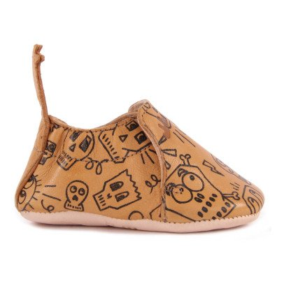 Easy Peasy Pirate Blumoo Leather Slippers-listing