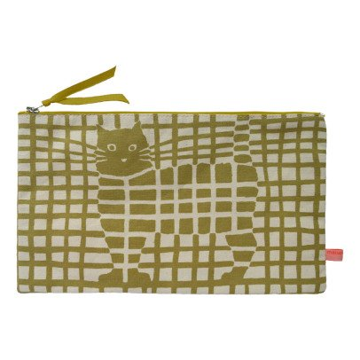 Maison Georgette Bronze Cat Pencil Case-listing